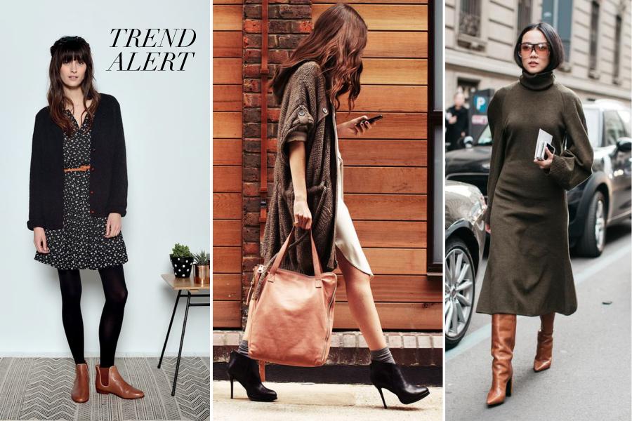Trend Alert Cómo Combinar Botas Y Vestidos Este Invierno
